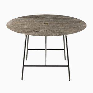 Table de Salon W Lithoverde Gris du Marais par David Lopez Quincoces pour Salvatori