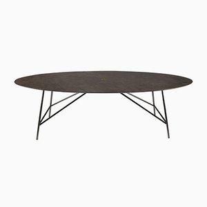 Table de Salle à Manger W Pietra d'Avola par David Lopez Quincoces pour Salvatori