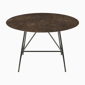 Tavolo da pranzo W in pietra d'Avola di David Lopez Quincoces per Salvatori