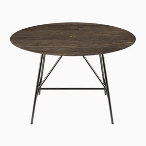 Lithoverde Pietra d'Avola W Dining Table by David Lopez Quincoces for Salvatori