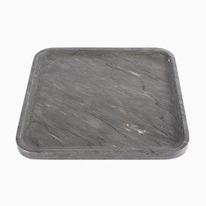 Vassoio Versilia grigio della Collezione Pietra L 04 di Piero Lissoni per Salvatori