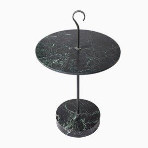 Tavolino da caffè L 05 in marmo Verde Alpi di Piero Lissoni per Salvatori
