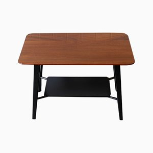 Mahogany Coffee Table by Peter Hayward for Vanson, 1950s
