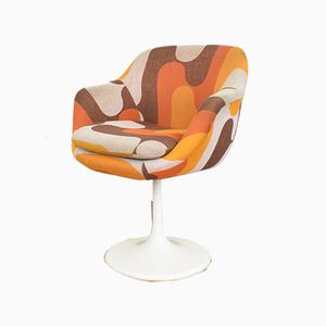 Mid-Century Tulip Swivel Chair From Lusch & Co, 1970s
