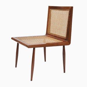 Chaise Basse en Jacaranda par Joaquim Tenreiro, 1950s