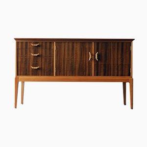 Aparador de nogal y haya de Vesper Furniture, años 50