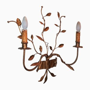 Mid-Century Iron Branch Wall Light, 1960s