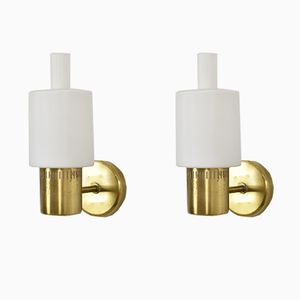 Nordlys Wall Lamps by Jo Hammerborg for Fog & Mørup, 1962, Set of 2