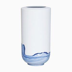 Vase Tide Bleu par Anna Badur