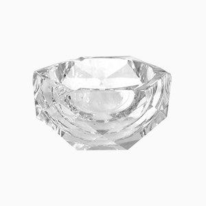 Aschenbecher aus Kristallglas von Val-Saint-Lambert