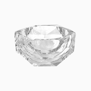 Crystal Ashtray from Val Saint Lambert, 1950s