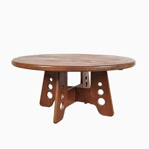 Table Basse Ronde, France, 1950s