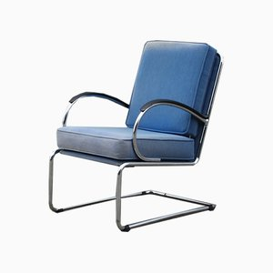 Vintage Model 409 Easy Chair by WH Gispen for Gispen