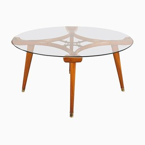 Table Basse Ronde par William Watting pour Fristo, 1955