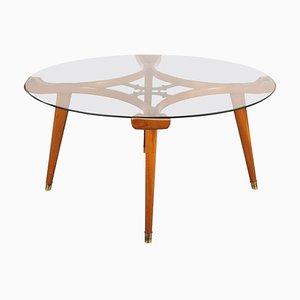 Tavolino da caffè rotondo di William Watting per Fristo, 1955