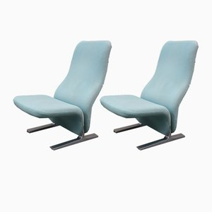 Concorde F784 Lounge Chairs by Pierre Paulin for Artifort, 1960s, Set of 2