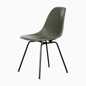 Olive Green DSX Chair by Charles & Ray Eames for Herman Miller, 1950s