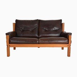 Vintage S 22 Sofa by Pierre Chapo, 1967