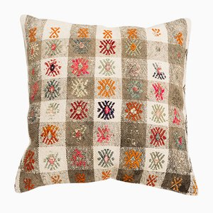 Square Kilim Cushion Cover by Wild Heart Free Soul