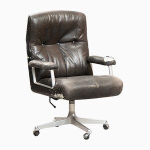 Chaise de Bureau P125 à Dossier Haut Vintage par Osvaldo Borsani pour Tecno