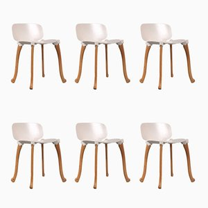 Axe Chairs by Floris Schoonderbeek for Studio Weltevree, 2000s, Set of 6