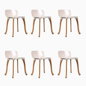 Axe Chairs by Floris Schoonderbeek for Studio Weltevree, 2000s, Set of 6