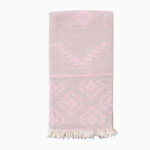 Asciugamano Navajo Anatowel rosa e grigio di Wild Heart Free Soul