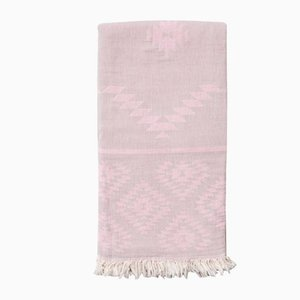 Rosequartz & Fade to Grey Navajo Anatowel by Wild Heart Free Soul