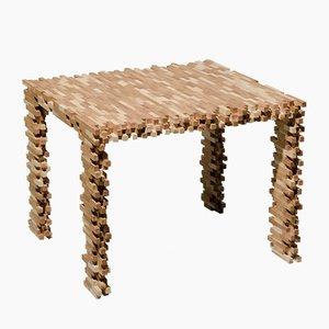 Interlaced Table by Philipp Aduatz, 2014
