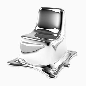 Chaise Melting par Philipp Aduatz Design, 2018