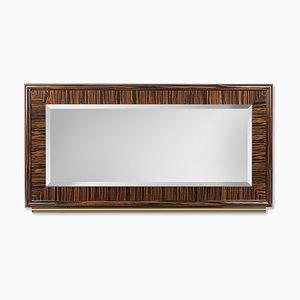 Secret Sin Spiegel mit Rahmen aus Ebenholz von Giorgio Ragazzini für VGnewtrend