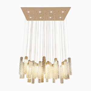 Lampada da soffitto New Pipe in vetro di Murano di VGnewtrend