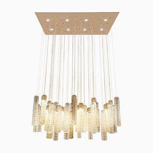 Lámpara de techo New Pipe de cristal de Murano de VGnewtrend