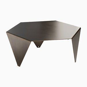 Ruche Coffee Table in Brushed Burnished Brass by Giorgio Ragazzini for VGnewtrend