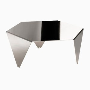 Ruche Coffee Table in Black Nickel by Giorgio Ragazzini for VGnewtrend
