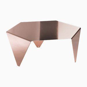 Ruche Coffee Table in Copper by Giorgio Ragazzini for VGnewtrend