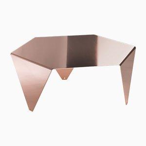 Tavolino da caffè Ruche in rame di Giorgio Ragazzini per VGnewtrend