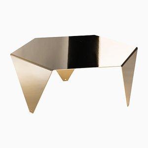 Tavolino da caffè Ruche in oro lucido di Giorgio Ragazzini per VGnewtrend