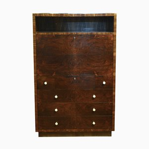 Art Deco Italian Rosewood Chest of Drawers