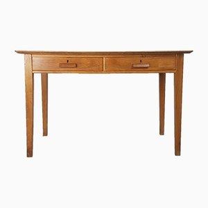 Vintage Schreibtisch aus Buchenholz von Esavian