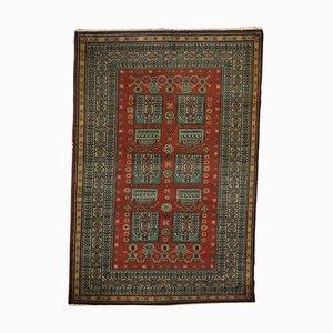 Handgefertigter Vintage Teppich aus Wolle & Baumwolle
