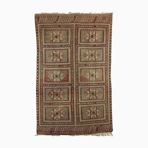 Antiker marokkanischer Kelim Teppich