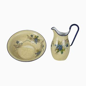 Italian Jug & Bowl from Bassano, 1950s