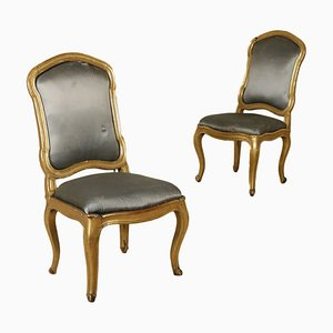 Antique Baroque Chairs, Set of 2