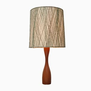 Large Teak Table Lamp, 1960s