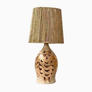 Lampe de Bureau Chouette par Georges Pelletier, 1970s