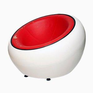 Silla Egg Pod era espacial de Eero Aarnio, años 60