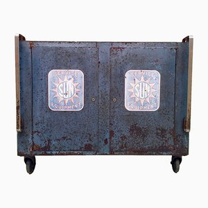 Mueble industrial Sun Service Equipment, años 50