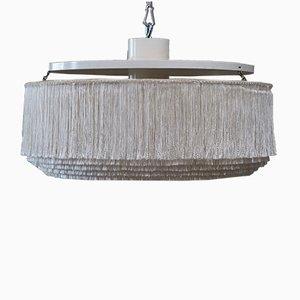 Lampada da soffitto grande T615 con frange di Hans-Agne Jakobsson, anni '60