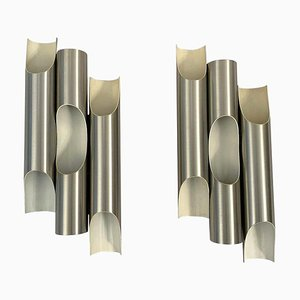 Fuga Wall Lights by Maija Liisa Komulainen for Raak, 1960s, Set of 2